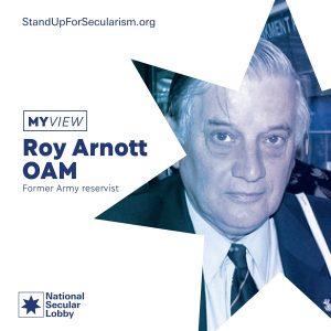 My View - Roy Arnott OAM