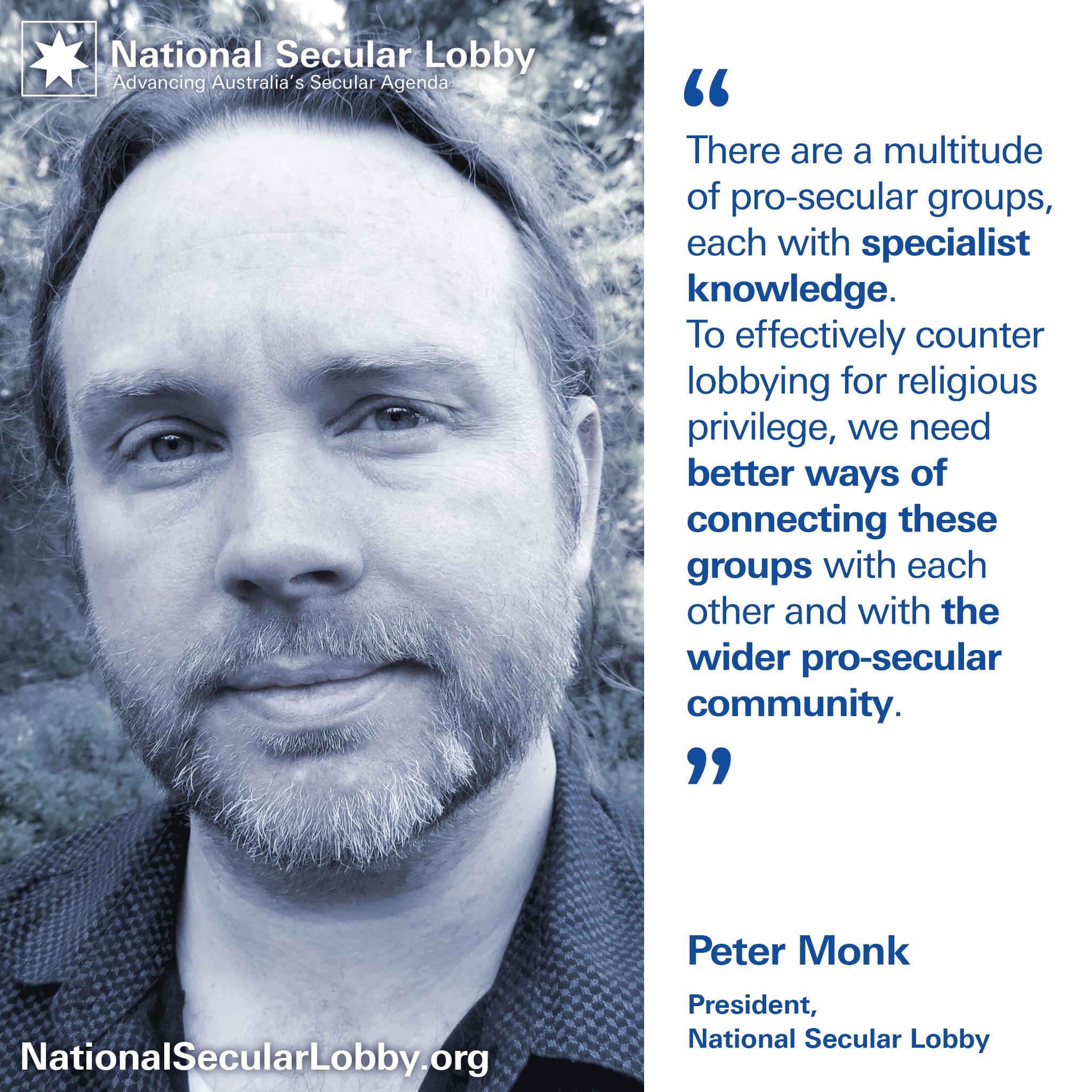 NSL President Peter Monk