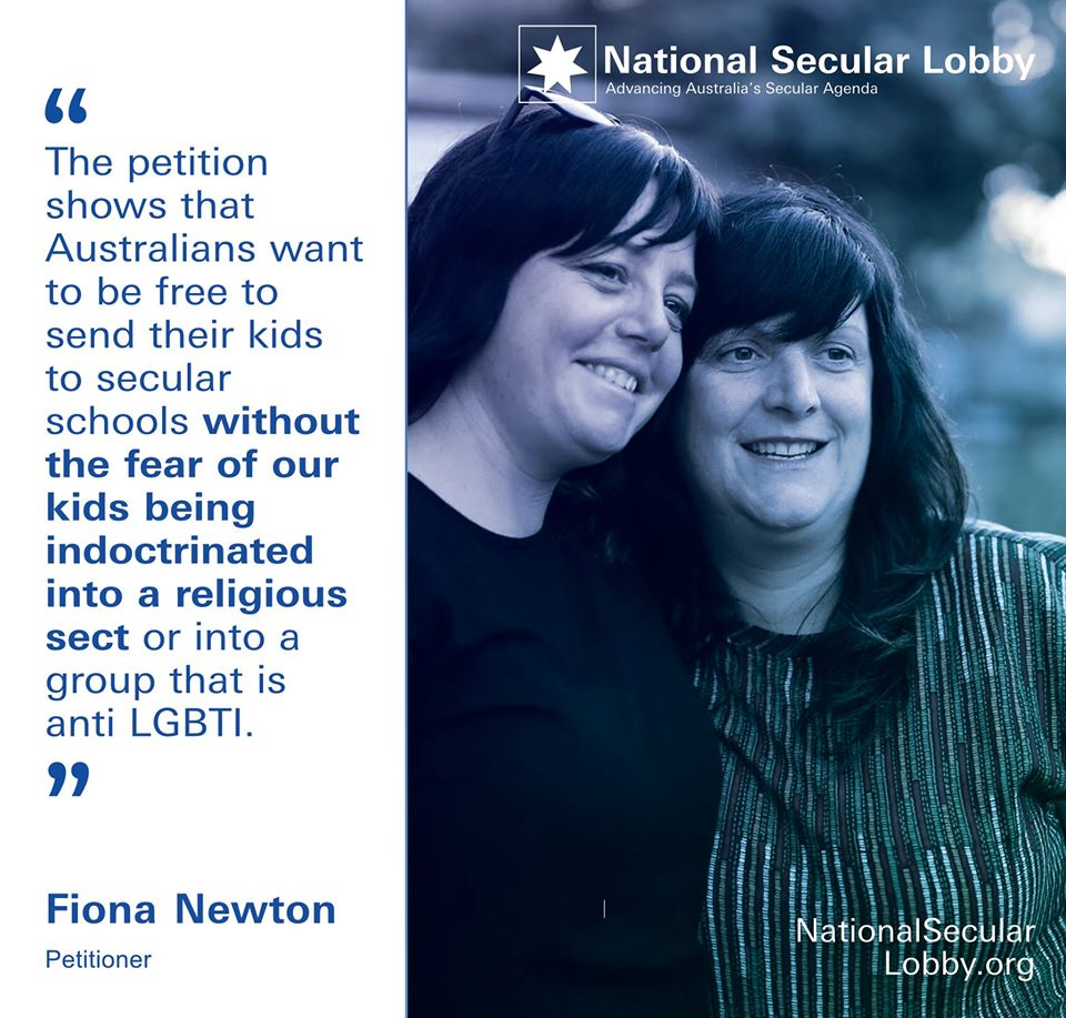 Fiona Newton Hillsong Petition