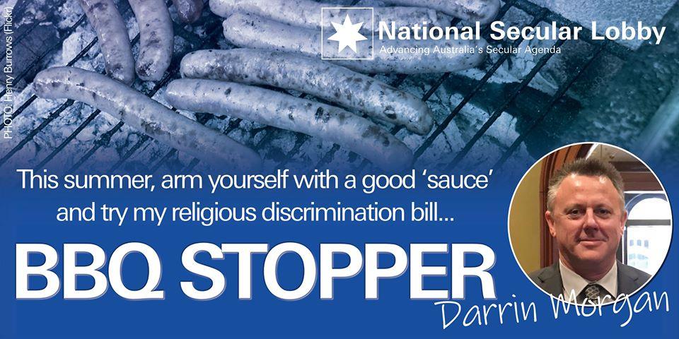 BBQ Stopper: Darrin Morgan