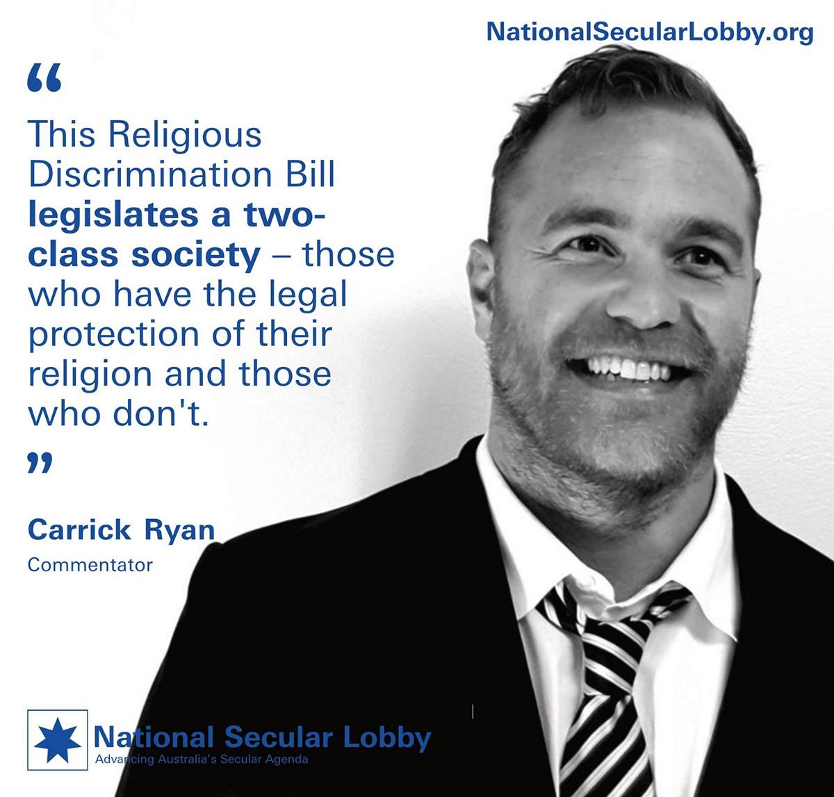 Carrick Ryan - A Two-Class Society