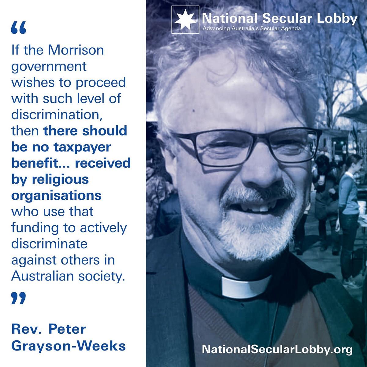 Peter Grayson-Weeks - Religious Apartheid