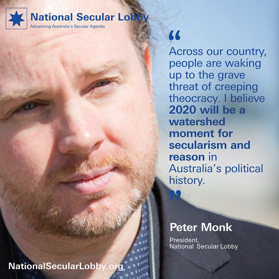 Peter Monk - Secularism in Australia in 2020