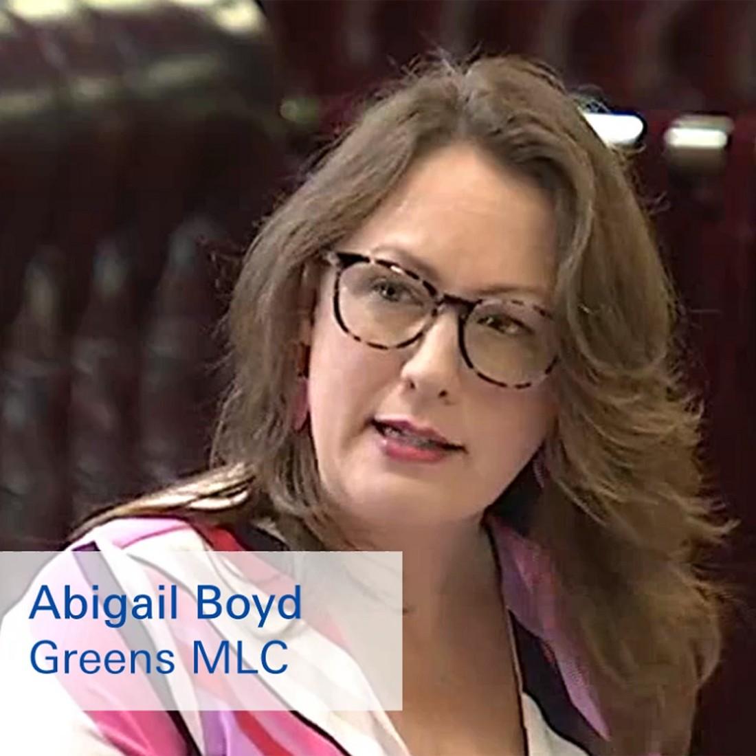 Abigail Boyd in NSW parliament prayers push