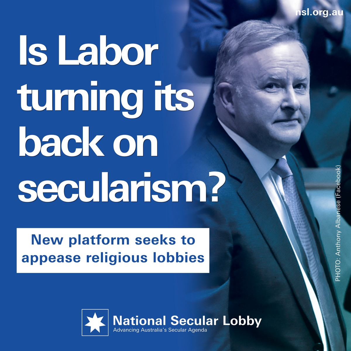 Is Labor turning its back on secularism?