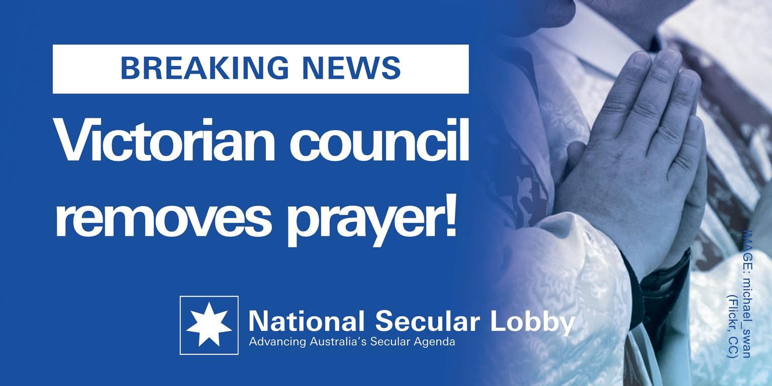 Mornington Council Prayer Removed