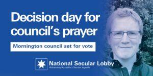 Anthony Marsh on Mornington Peninsula prayers