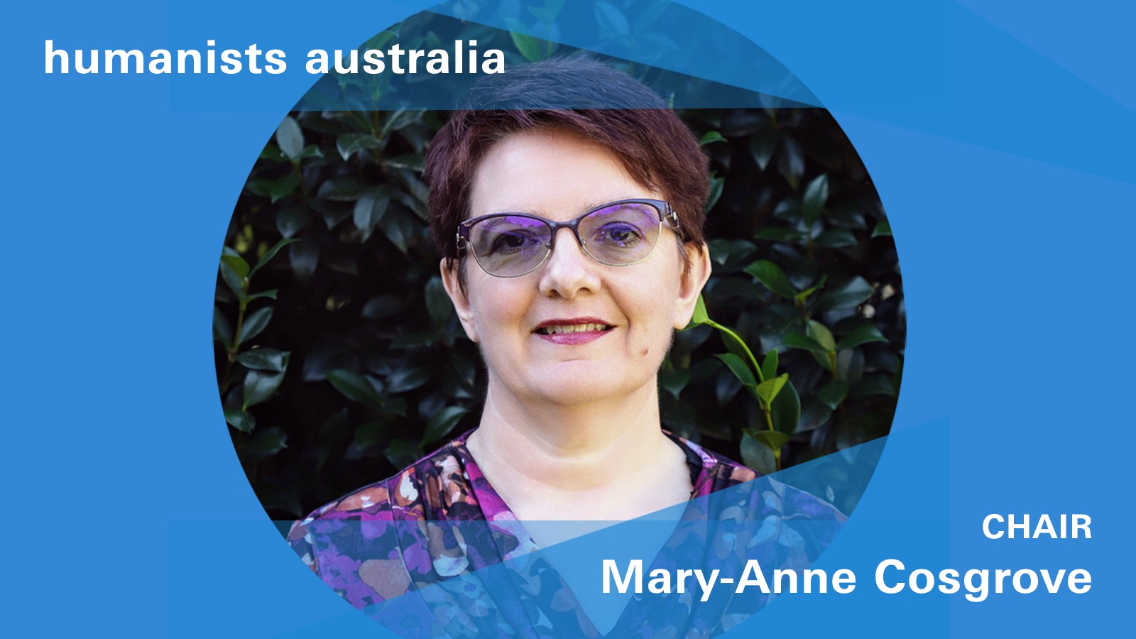 Humanists Australia's Mary-Anne Cosgrove