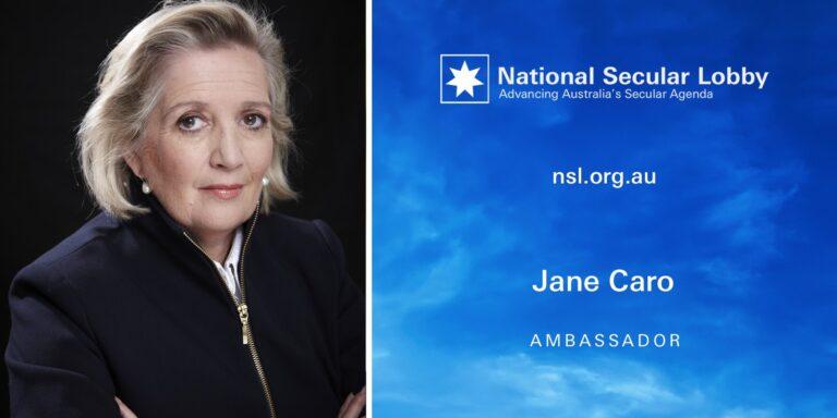 NSL Ambassador Jane Caro