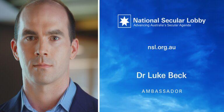 NSL Ambassador Dr Luke Beck