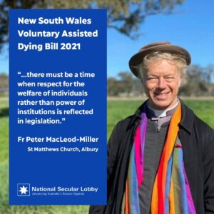 Peter MacLeod-Miller on VAD in NSW