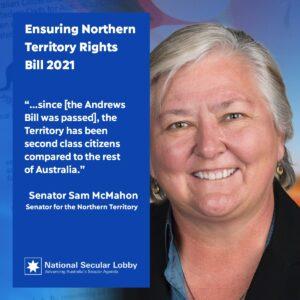 Sam McMahon's Ensuring Northern Territory Rights Bill 2021