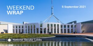 Weekend Wrap for 5 September 2021